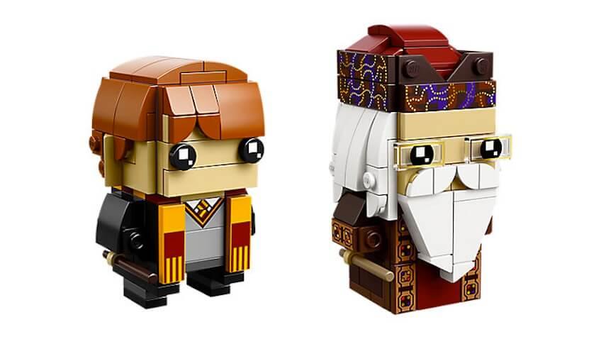 BrickHeadz de Ron Weasly y Dumbledore