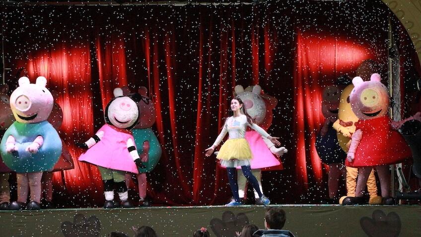 Un día con Peppa Pig en Torrejón de Ardoz Madrid