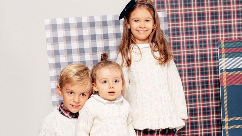 moda infantil para las Fiestas Navidad de Zippy