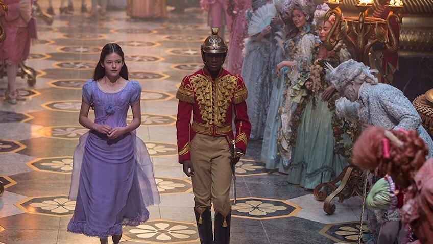 El Cascanueces y los Cuatro Reinos película de Disney el ballet más famoso de la Navidad