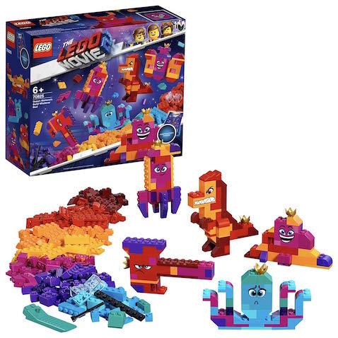 Set de LEGO Película 2 Caja Construye lo que Sea de la Reina Watevra para 6 años