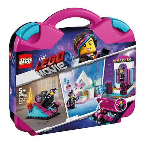 Caja de Constructora de Lucy LEGO Movie 2 exclusiva de El Corte Inglés