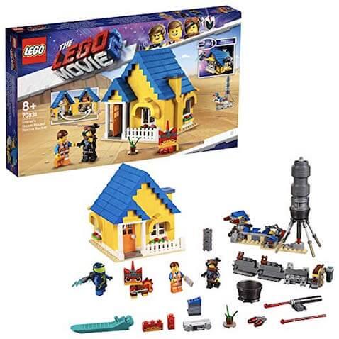 Set Casa de los Sueños/Cohete de Rescate de Emmet LEGO Película 2
