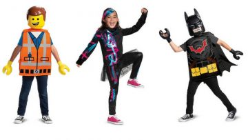 Disfraces de la LEGO Película 2 y máscaras para imprimir gratis