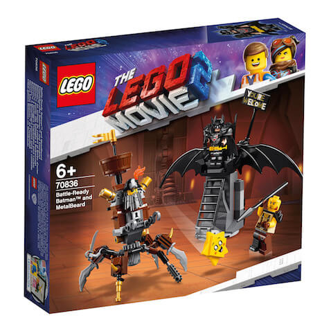 Set LEGO Movie Batman y Barbagris Preparados para Luchar de la LEGO Película 2