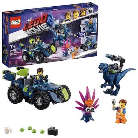 Set LEGO Todoterreno Rextremo de Rex LEGO Película 2