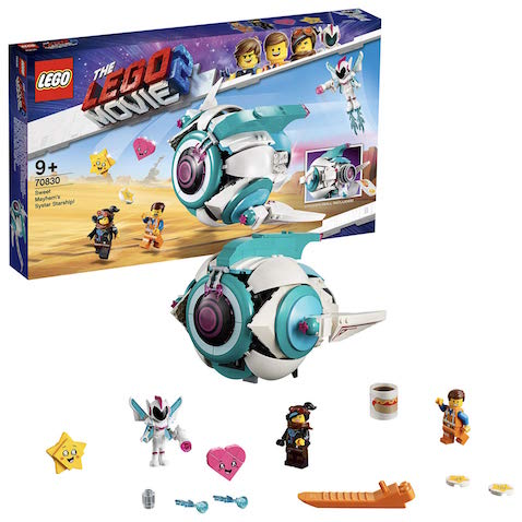 Set LEGO Nave Systar de Dulce Caos LEGO Película 2