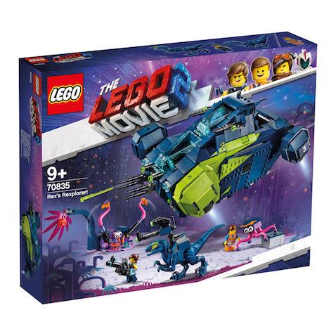 Set LEGO Rexplorador de Rex de la LEGO Película 2