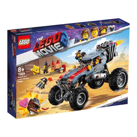Set LEGO Buggy de Escape de Emmet y Lucy de la LEGO Película 2