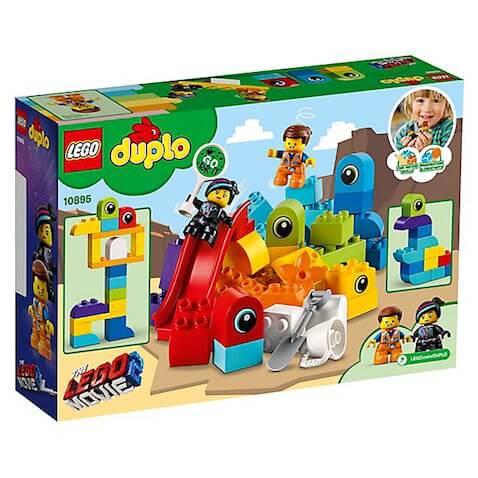 Set LEGO Duplo Visitas de Emmet y Lucy desde el Planeta LEGO Película