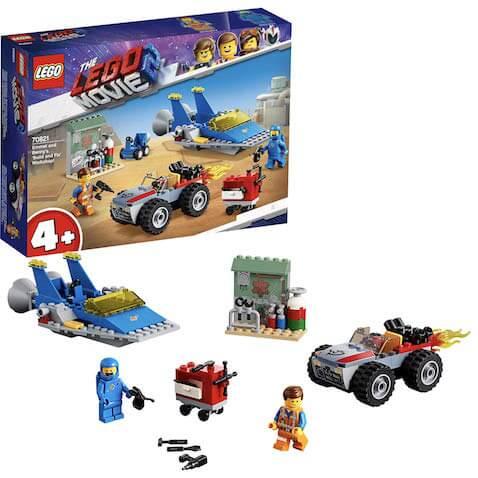 Set LEGO Movie Taller Construye y Arregla de Emmet y Benny LEGO Película 2