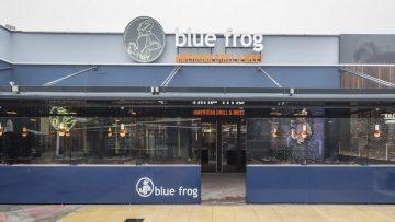 Blue Frog un restaurante recomendado para ir con niñ@s