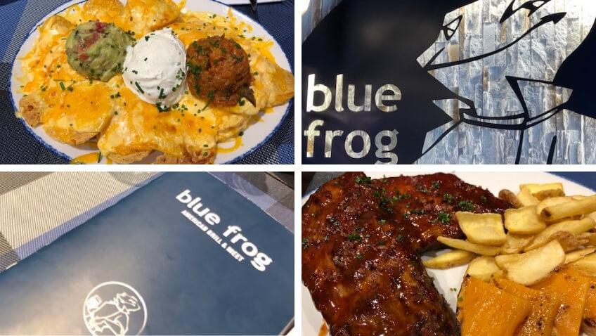 Nachos Tribeca y costillas de Blue Frog