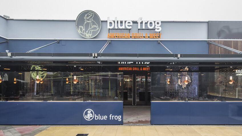 nuevo restaurante blue frog las rozas