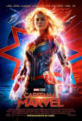 La Capitana Marvel estreno en cines en Marzo