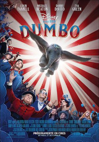 estreno nueva película de DUMBO de Disney