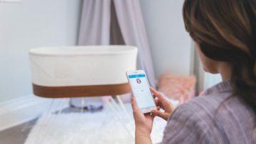 La costosa minicuna inteligente SNOO innova con un servicio de renting