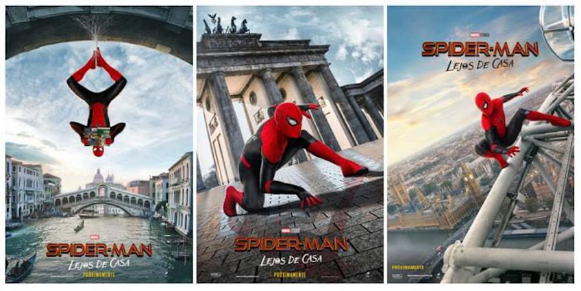 nueva película spider man lejos de casa