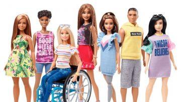Mattel apuesta por la diversidad con nuevas muñecas Barbie Fashionistas