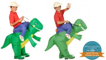 ¡Consigue un original disfraz de dinosaurio para tu peque!