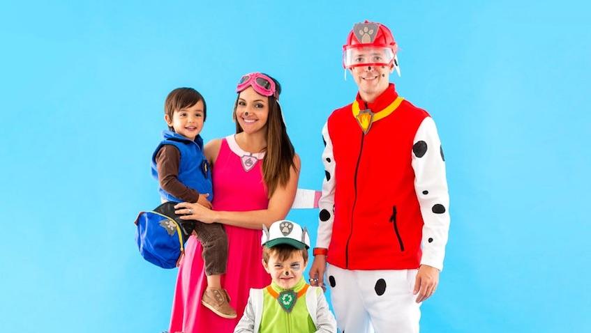 Disfraces de la Patrulla Canina para toda la familia para Carnaval