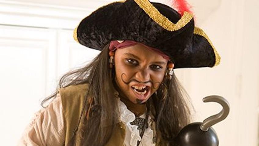 cómo Hacer un disfraz casero de pirata para niñ@s fácil