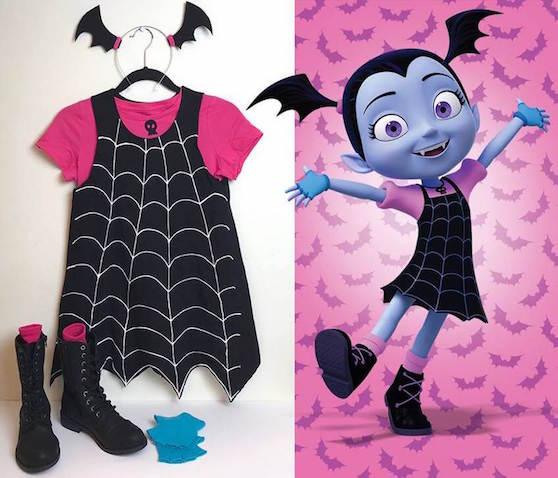 Cómo hacer un Disfraz de Vampirina DIY
