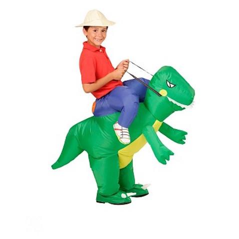 Original Disfraz Explorador o exploradora sobre dinosaurio infantil