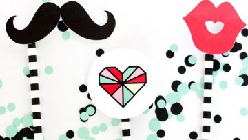 Photo Booth Props para hacer fotos divertidas en San Valentín