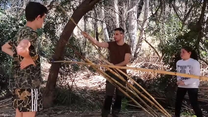 3 técnicas de supervivencia en la naturaleza básicas para niñ@s