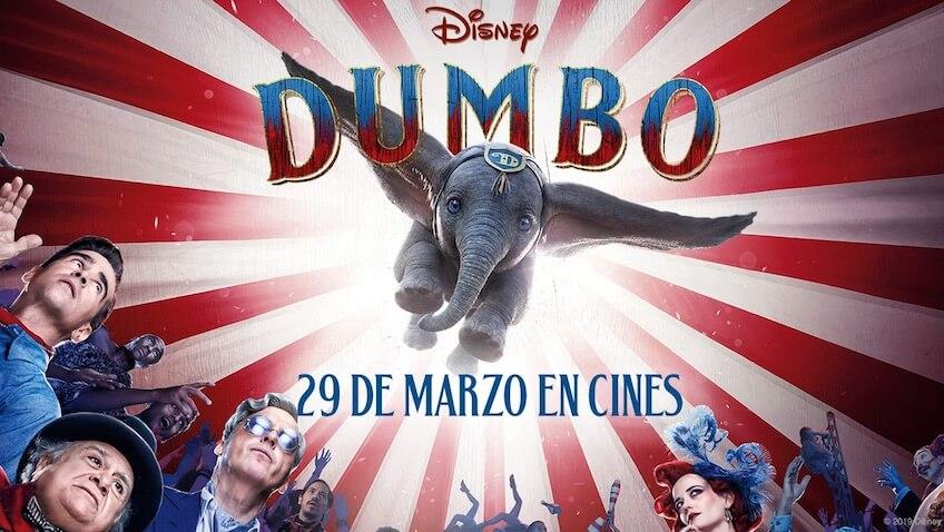 película de dumbo tim burton estreno en cines
