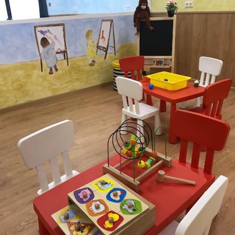 Instalaciones de la escuela infantil Los Bollitos Cuatro Caminos Madrid