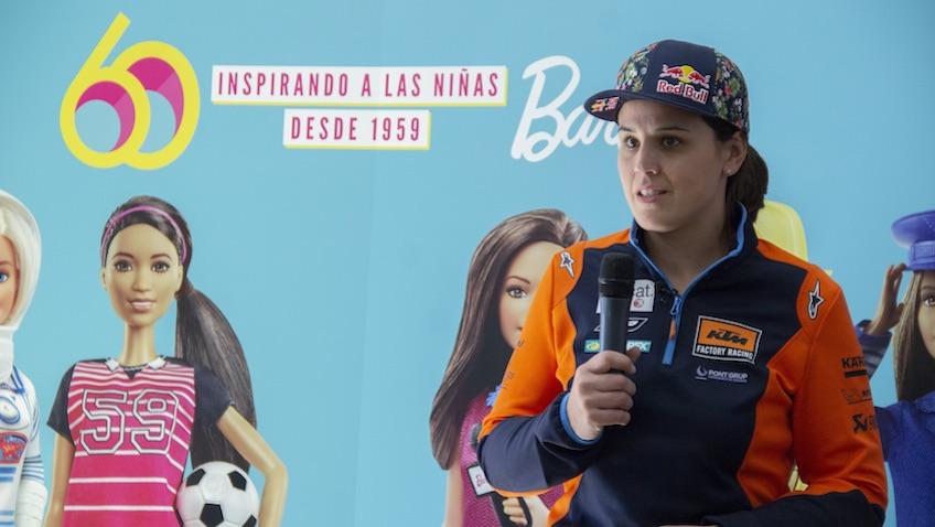 Laia Sanz Yo puedo ser Barbie campeona mundial de trial, enduro y piloto del Dakar