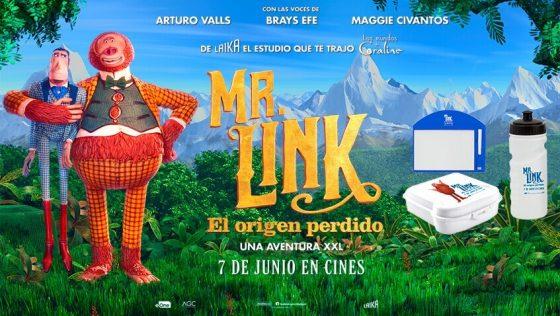 ¡Gana premios de la película Mr. Link: El origen perdido!
