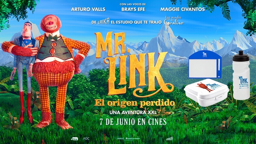 Gana premios de la película Mr. Link El Origen Perdido
