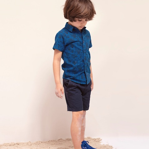 Shorts chino azul de Zippy