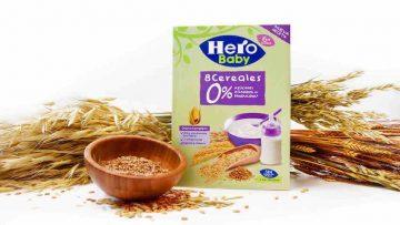 Nuevas papillas Hero Baby 0% azúcares añadidos ni producidos