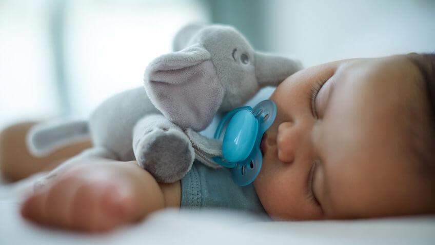 Peluche elefante con chupete ultra soft de Philips Avent