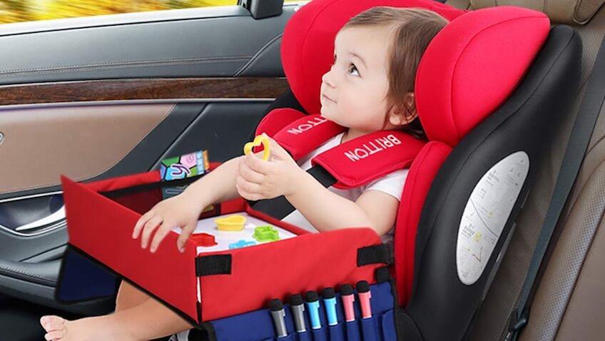 5 productos para bebés del Amazon Prime para tus vacaciones mesa asiento de coche