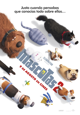 Película Mascotas 2 estreno el 9 de agosto