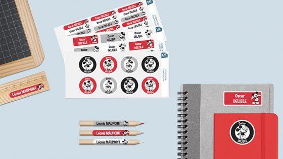 ¡Gana etiquetas personalizadas de Ludilabel para la Vuelta al Cole!