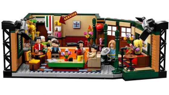 Set de Lego 25 aniversario de Friends