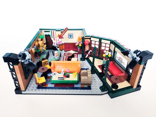 lego serie friends central perk