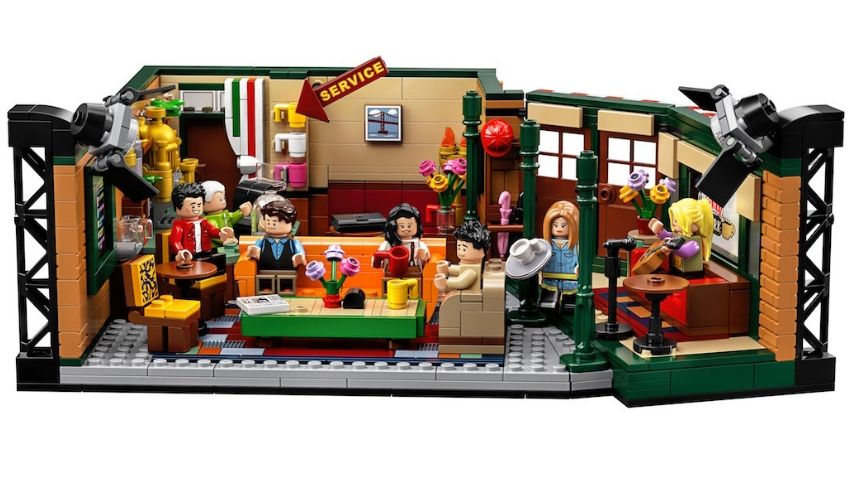 Set de Lego 25 aniversario de la serie Friends Central Perk