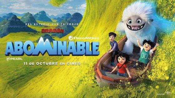 ¡Gana premios de la película Abominable!