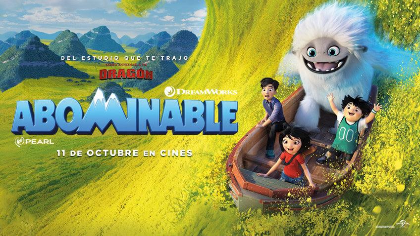 Sorteo Gana premios de la película Abominable