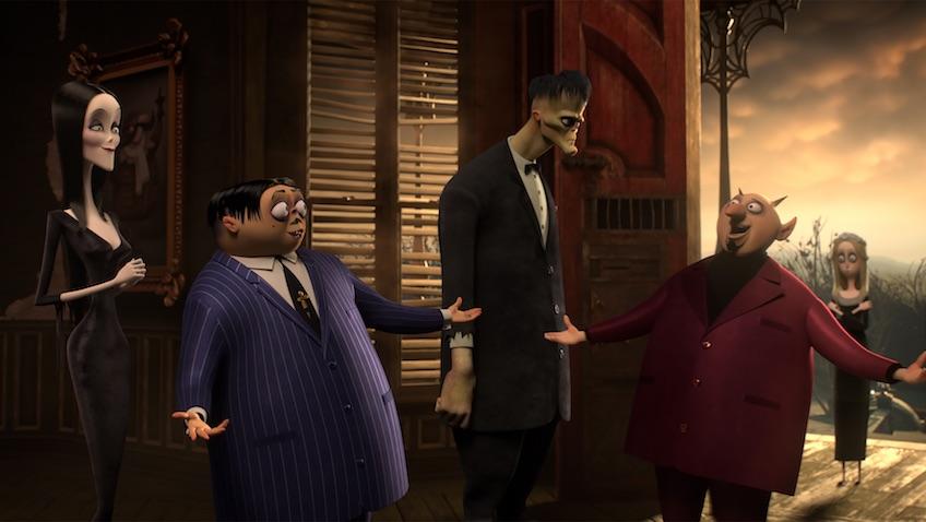 La película La Familia Addams escenas
