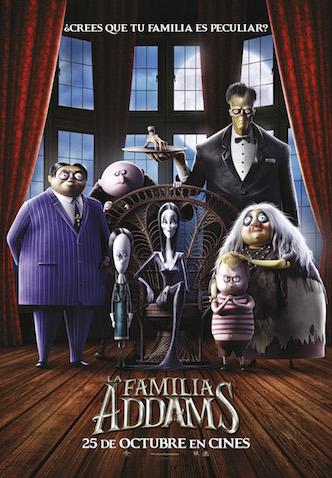 La Familia Addams estreno 25 de Octubre en Cines