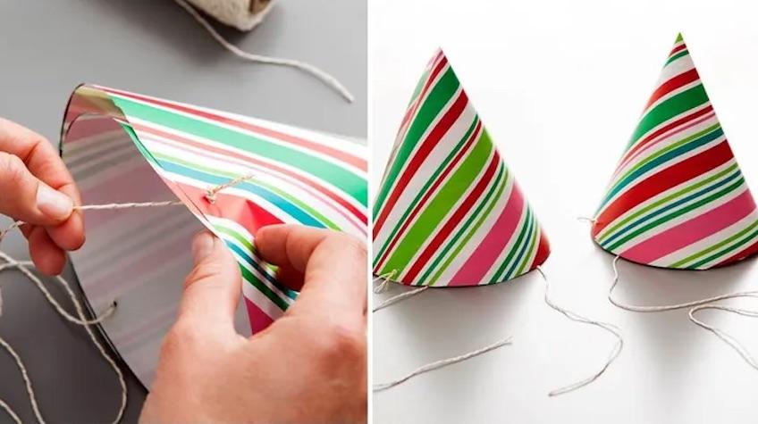 ideas para reclicar papel de regalo de navidad