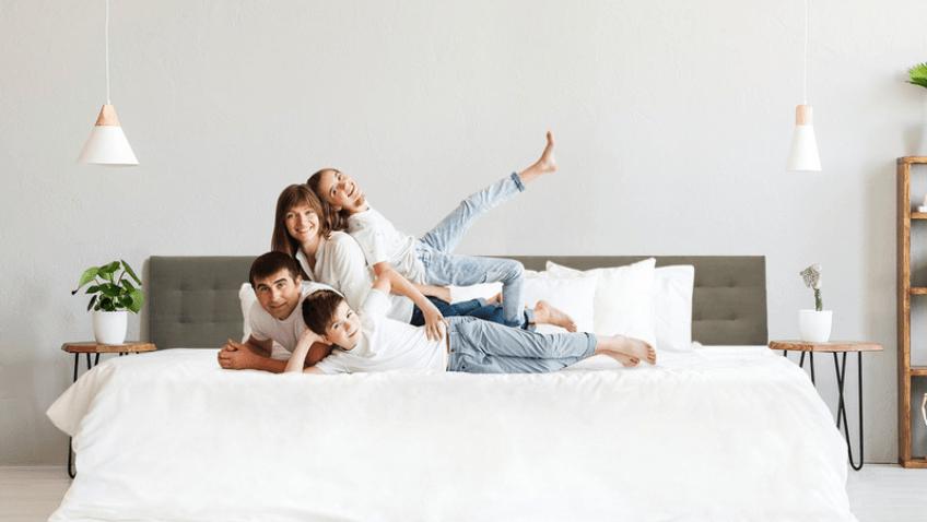cama de colecho para toda la familia